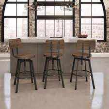 outdoor bar stools cheap. Amisco Woodland Gunmetal Adjustable Stool With Brown Wood Outdoor Bar Stools Cheap H