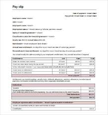 Employee Salary Slip Sample Gorgeous Slip Template 48 Free Word Excel PDF Documents Download Free