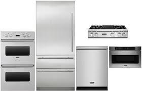 viking 5 piece stainless steel kitchen