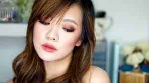 easy boho mulberry smoky eye tutorial monolids asian eyes you