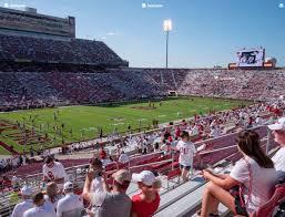 Gaylord Family Oklahoma Memorial Stadium Section 36 Seat