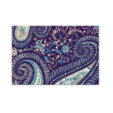 purple note cards purple paisley brooch portfolio note cards punch studio