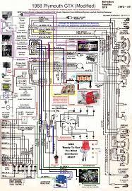 1968 gtx wiring diagram (modified) mopar forums 1969 dodge dart wiring diagram at 1968 Plymouth Fury Wiring Diagram
