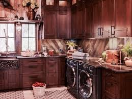 craftsman laundry room with signature hardware 33 vine design 60 40 offset double