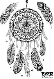 Small Picture 138 best DreamCatcher Coloring Pages for Adults images on