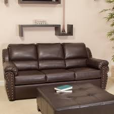 Best leather sofa Sleeper Sofa Image Unavailable The Independent Amazoncom Best Selling Hadley Leather Sofa Bed Brown Kitchen