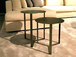 glass side tables bedroom for round bedside table gold and coffee large size of