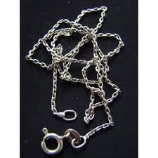 clean your silver chain with non toxic ings