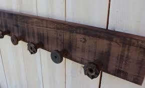 Reclaimed Wood Wall Coat Rack Rustic shelf barn wood shelf barn wood rack reclaimed wood 18