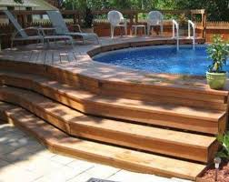 above ground pool decks. Best 25 Above Ground Pool Decks Ideas On Pinterest Swimming Beautiful Home
