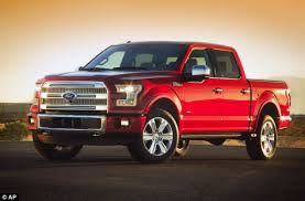 Ford F-150 pickup truck aluminum model weighs 700 POUNDS LESS than ...