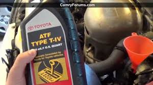 Toyota Camry 1997 11 How to Change Automatic Transmission Fluid ...