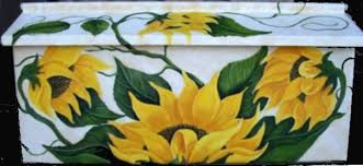 painted mailbox designs. Mailboxes Can Be Done With Matching, Name Or Address Signs Painted Mailbox Designs