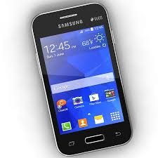 Samsung Galaxy Young 2 Black & White 3D ...