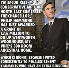 Image result for Rees-Mogg class war