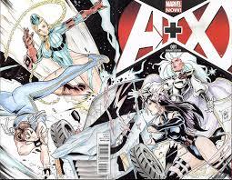 street fighter vs x men in gem bataclan s blank cover commission