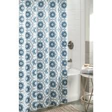 gallery pictures for polyester patterned shower curtain stall size