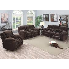 Living Room Loveseats Magnum Living Room Reclining Sofa Loveseat Mocha Umr157