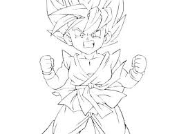Dragon Ball Super Vegeta Coloring Pages Z Saiyan Sheet P 4 The Ideal