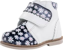 daisy print leather boots for girls sku set 159776 159777 159778 159779 159780