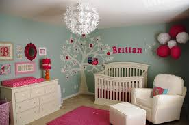 Image of: Baby Girl Nursery Themes Colors Ideas