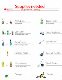 cleaning supplies list apartment cleaning supplies list busy bee cleaning service