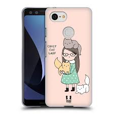 Ecell Head Case Designs Head Case Designs Crazy Cat Lady Reasons Why Im Single Soft Gel Case For Google Pixel 3