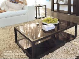 glass and wood coffee table black wood coffee table glass and wood coffee table with shelf