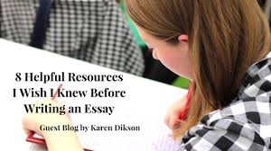 helpful resources i wish i knew before writing an essay jlv  writing essays is an important part of every student s academic success and therefore yet another assignment they are expected to do perfectly