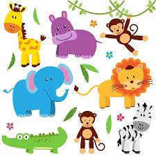 cute zoo animals clipart.  Animals Cute Vector Set Of Zoo Animals Stock  40603591 To Clipart R