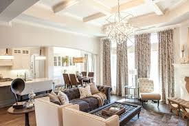 Transitional Living Room Furniture Trending In Home Design Orbit Chandeliers D Magazine