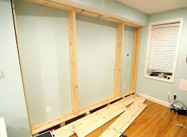 built in bookcases custom project shelves into wall ikea around windows bookca bedroom built in