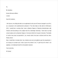 Free Printable Professional Letter Format