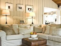 Cottage Style Living Room Sofa