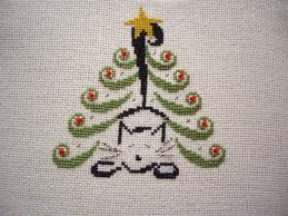 Cross Stitch Christmas Ornaments Patterns Free Best Inspiration Design