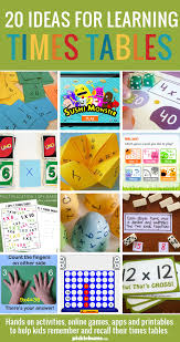 Helping Kids Learn Their Times Tables - Picklebums