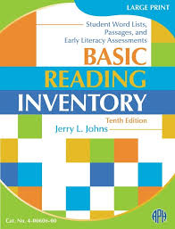 Word Inventory Basic Reading Inventory Student Word Lists Passages And Early Literacy Assessments On Sale