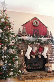 Holiday Mantel Christmas Fireplaces Decoration Ideas  Christmas Christmas Fireplace Mantel