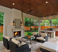 outdoor table inexpensive outdoor kitchen ideas outdoor impressions outdoor living kitchen with fireplace it s