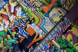 wall art ideas design revok and pose brooklyn wall art houston street flash cacophonic murals texture graffiti scharf graphic design advertising awesome