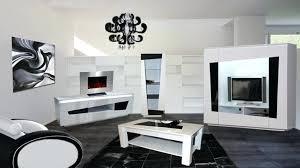 Deco Salon Noir Et Blanc Beautiful Decoration Gris Rouge NewsindocoIdee Deco  Salon Noir Blanc Gris