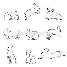 outline of bunny rabbit drawing outline rome fontanacountryinn com