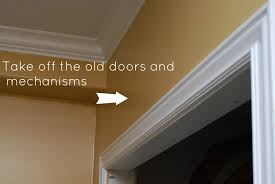 removing interior sliding doors photo 1
