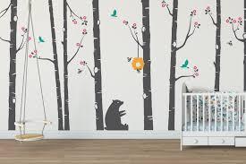 tree wall stickers for nursery