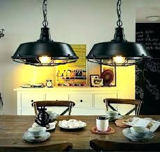 industrial style dining room lighting deck wrought iron table contemporary lighting