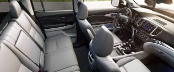 2018 honda ridgeline rtl interior dashboard and seating