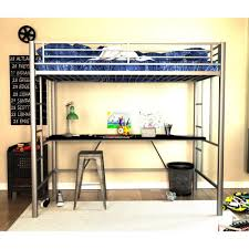 bedroom loft full size with desk and vanity enjoy convenience metal plans powell rock roll