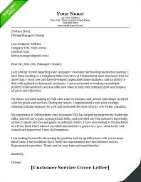 Cover Letter And Resume Classy Call Center Cover Letter Sample Customer Service Cover Letter