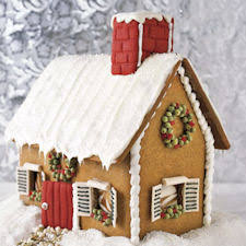Gingerbread House Patterns Beauteous 48 Gingerbread House Designs Free Patterns Ideas TipNut