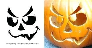 pumpkin carving patterns free free pumpkin carving stencils of favorite dog breeds pug printable